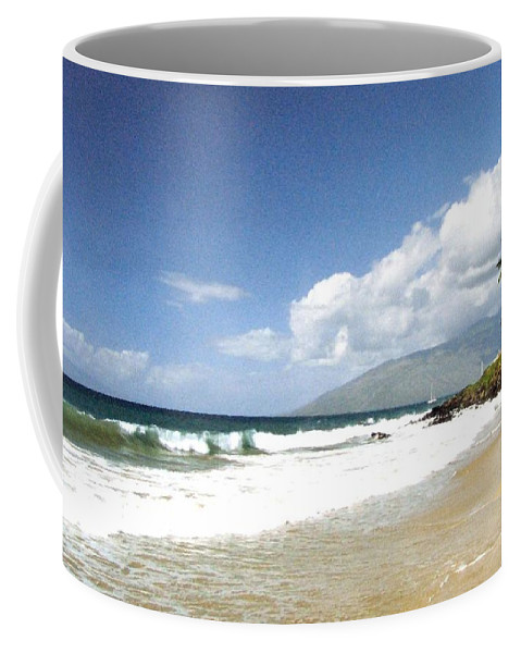 1986 Coffee Mug featuring the photograph Kihei by Will Borden