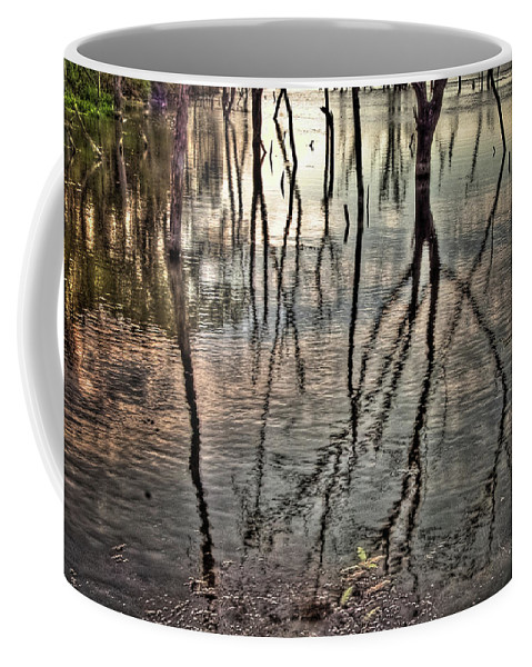 Hdr Coffee Mug featuring the photograph Kill Creek 8394 by Timothy Bischoff