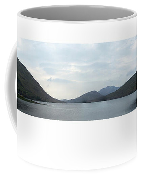 Landscape Coffee Mug featuring the photograph Killary Harbour Leenane Ireland by Teresa Mucha