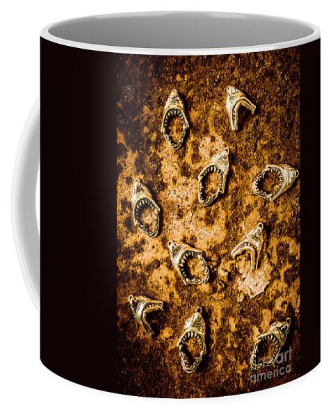Shark Coffee Mug featuring the photograph Killer Shark Jaws by Jorgo Photography - Wall Art Gallery