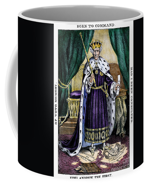 1832 Coffee Mug featuring the photograph King Andrew The First by Granger