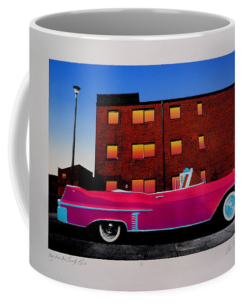 Coffee Mug featuring the photograph King Elvis Has Surely Come by Charles Stuart