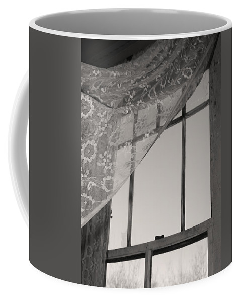 Window Coffee Mug featuring the photograph Kisses Sent by The Artist Project