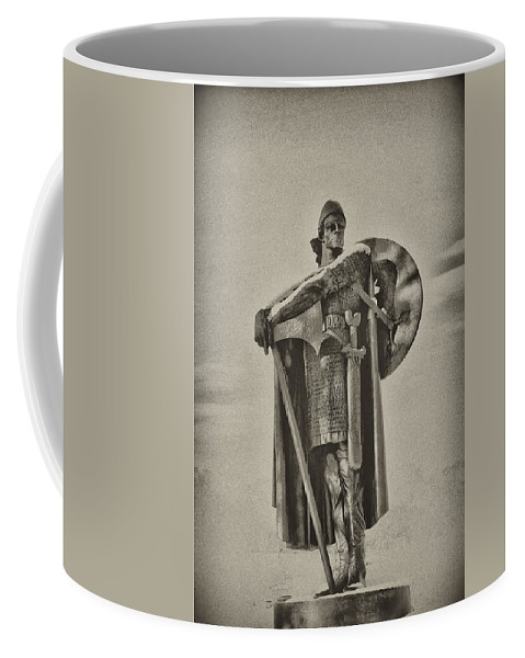 Philadelphia Coffee Mug featuring the photograph Knight by Bill Cannon