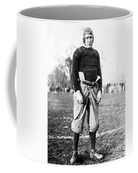 1913 Coffee Mug featuring the photograph Knute Rockne (1888-1931) by Granger