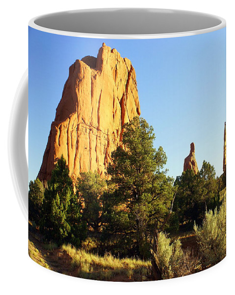 Utah Coffee Mug featuring the photograph Kodachrome Basin I by Marty Koch