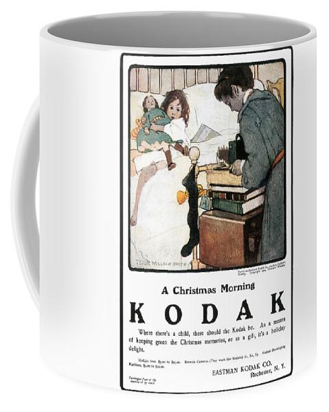 1904 Coffee Mug featuring the photograph Kodak Advertisement, 1904 by Granger