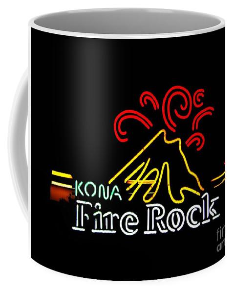 Coffee Mug featuring the photograph Kona Fire Rock 2 by Kelly Awad