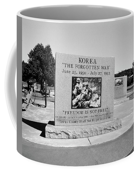 120 Film Coffee Mug featuring the photograph Korea The Forgotten War by Timothy Wildey