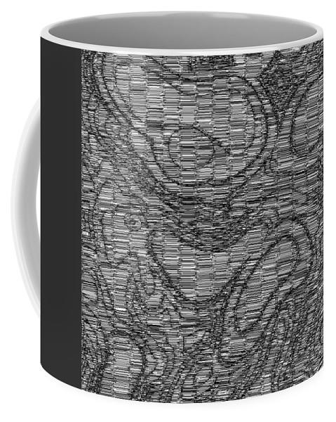 Art Coffee Mug featuring the digital art Kovertimet by Jeff Iverson