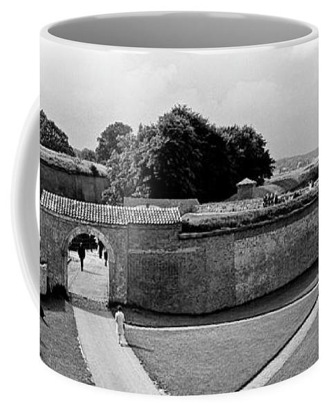 Hamlet's Castle Coffee Mug featuring the photograph Kronborg Castle 3 by Lee Santa