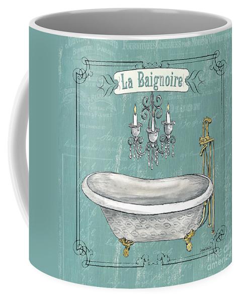 Bath Coffee Mug featuring the painting La Baignoire by Debbie DeWitt