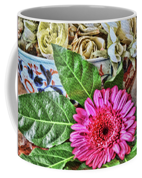 Flower Coffee Mug featuring the photograph La Flor De La Castellana by Diana Raquel Sainz