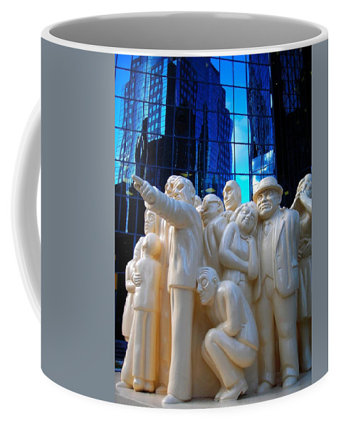 North America Coffee Mug featuring the photograph La Foule Illuminee by Juergen Weiss