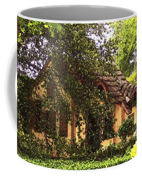 Cottage Coffee Mug featuring the photograph La Maison by Debbi Granruth