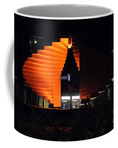 Clay Coffee Mug featuring the photograph L.a. Nights by Clayton Bruster