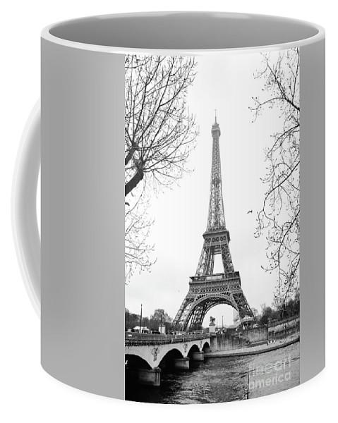 Paris Coffee Mug featuring the photograph La Tour Eiffel, Paris by Luis Botaro