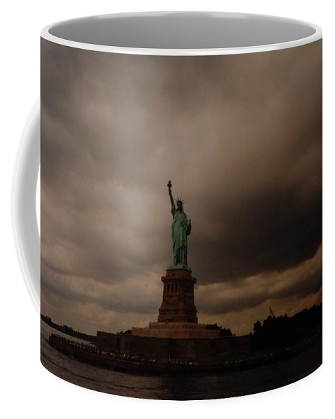 Statue Of Liberty Coffee Mug featuring the photograph Lady Liberty by Rob Hans