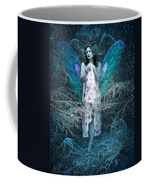 Birch Tree Coffee Mug featuring the photograph Lady Of Forest by Svetlana Sewell