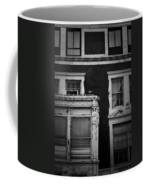 Roanoke Coffee Mug featuring the photograph Lady Of The Patrick Henry Hotel Roanoke Virginia by Teresa Mucha