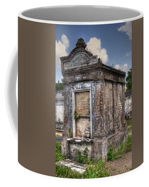 New Orleans Coffee Mug featuring the photograph Lafayette Crypt 2 by Tammy Wetzel
