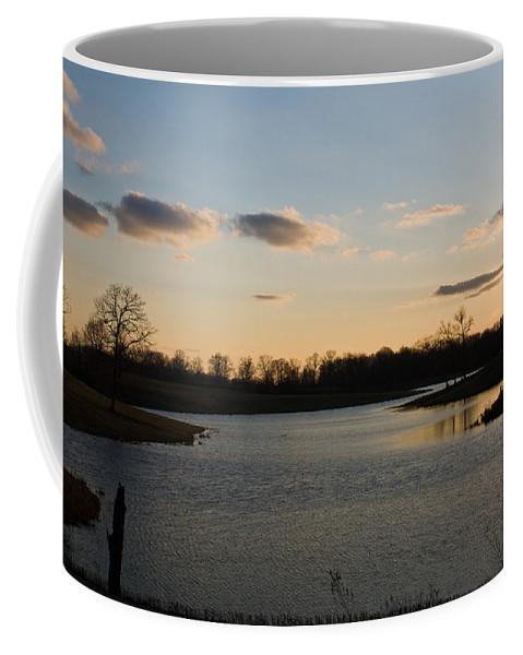 Lake Coffee Mug featuring the photograph Lake Cumberland County Tennessee by Douglas Barnett