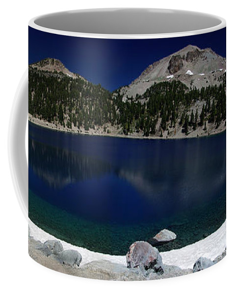 Mirror Coffee Mug featuring the photograph Lake Helen Lassen by Peter Piatt