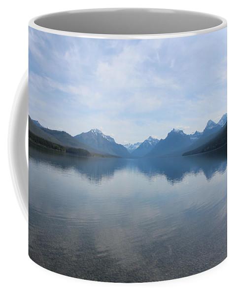 Travel Coffee Mug featuring the photograph Lake Mcdonald by Nicholas Miller