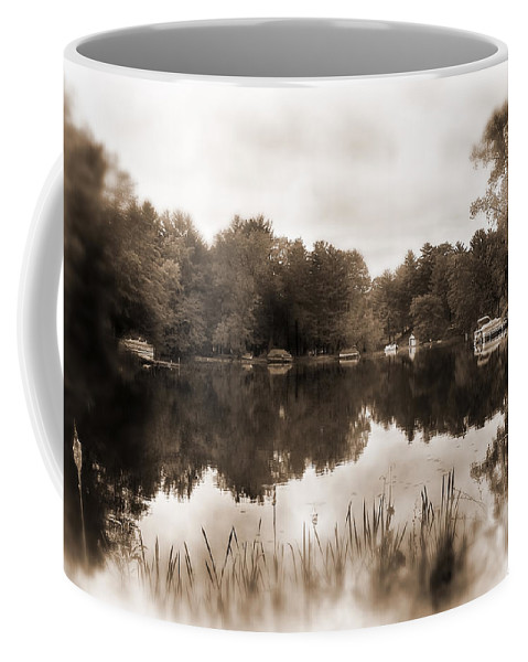 Lauren Radke Coffee Mug featuring the photograph Lake Morris by Lauren Radke