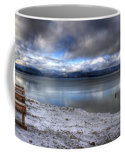Landscape Coffee Mug featuring the photograph Lake Pend D'oreille At 41 South by Lee Santa