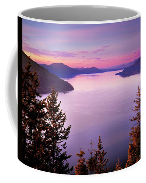 Idaho Scenics Coffee Mug featuring the photograph Lake Pend Oreille 2 by Leland D Howard
