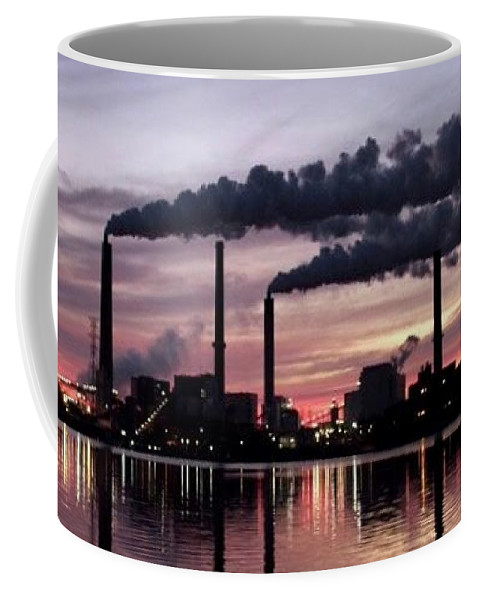 Lake Coffee Mug featuring the photograph Lake Springfield by Olivia Collins