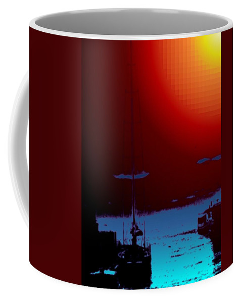 Seattle Coffee Mug featuring the photograph Lake Union Moorage by Tim Allen