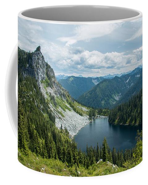 Lake Coffee Mug featuring the photograph Lake Valhalla by Ryan McGinnis