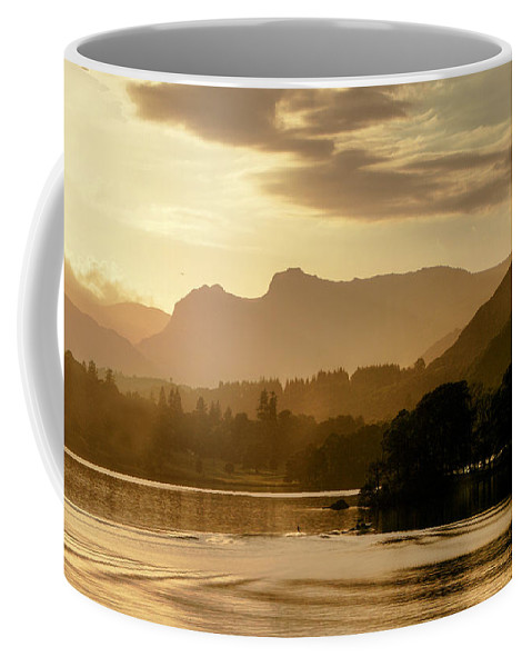 Landscape Coffee Mug featuring the photograph Lake Windermere Two by Lance Sheridan-Peel