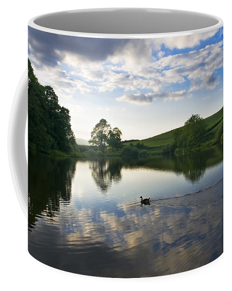 Clouds Coffee Mug featuring the photograph Lake02 by Svetlana Sewell
