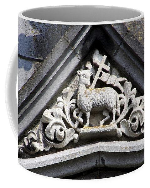 Ireland Coffee Mug featuring the photograph Lamb Of God by Teresa Mucha