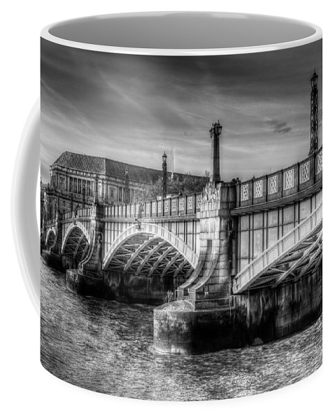 London Coffee Mug featuring the photograph Lambeth Bridge London by David Pyatt