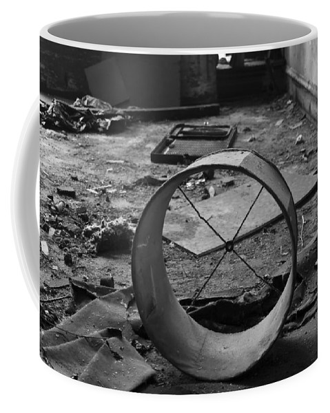 Lampshade Coffee Mug featuring the photograph Lampshade After The Party by Sven Brogren