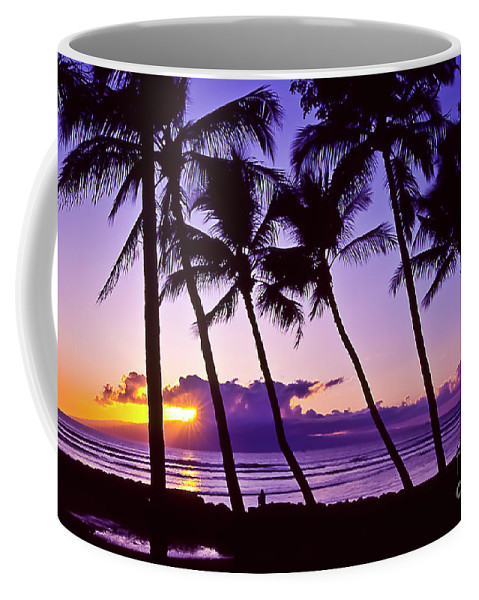 Landscapes Coffee Mug featuring the photograph Lanai Sunset by Jim Cazel