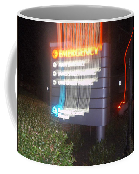Photograph Coffee Mug featuring the photograph Lancaster Genral Emergency Room by Thomas Valentine
