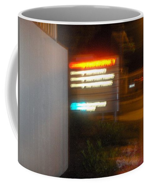 Photograph Coffee Mug featuring the photograph Lancaster Genral Entrance by Thomas Valentine