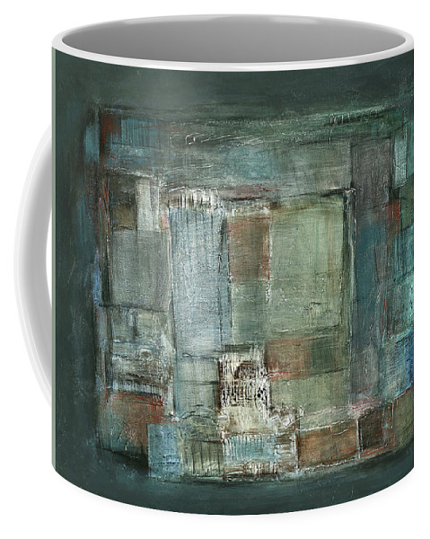 Sketching Coffee Mug featuring the painting Texture by Behzad Sohrabi