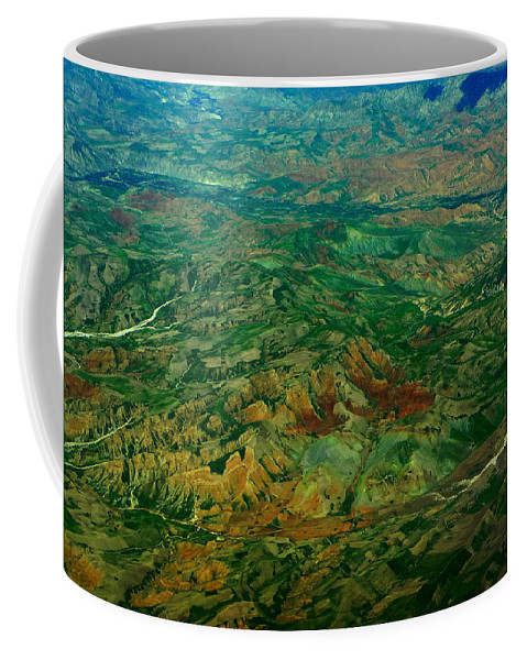 Natural Abstract Coffee Mug featuring the photograph Land Of Oz by Anna Duyunova