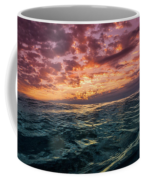 Wave Coffee Mug featuring the photograph Land Of The Rising Sun by Joseph McGrew