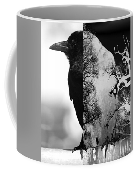 Abstract Coffee Mug featuring the photograph Land With Plenty by The Artist Project