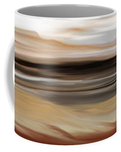 Landscape Coffee Mug featuring the digital art Landscape 103010 by David Lane