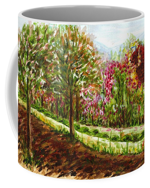 Landscape Coffee Mug featuring the painting Landscape 2 by Harsh Malik