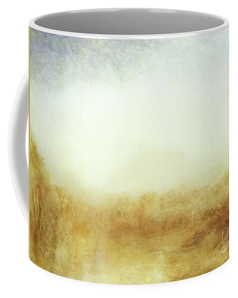 Turner Coffee Mug featuring the painting Landscape Castle From The Meadows by Joseph Mallord William Turner