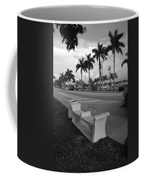 Black And White Coffee Mug featuring the photograph Lantana by Rob Hans